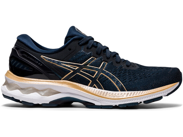 asics Gel-Kayano 27 Shoes Women, french blue/champagne
